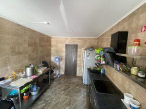 кухня в пансионате Забота